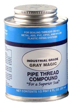 Gray Magic Pipe Thread Compound