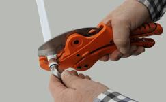 cut pex pipe to remove