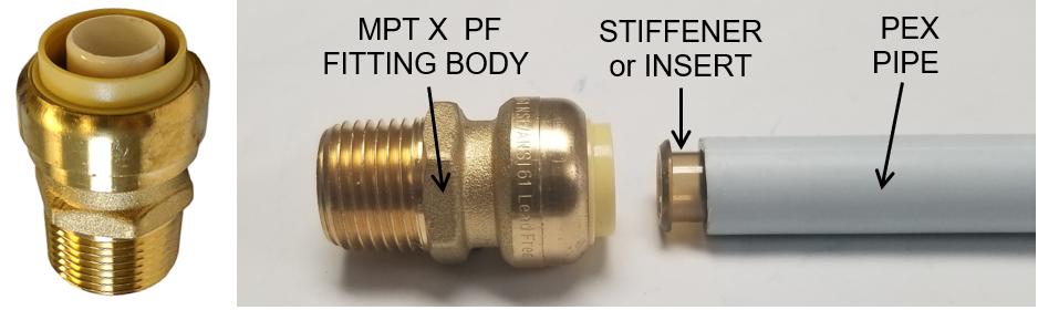 Brass Pushfit Fittings